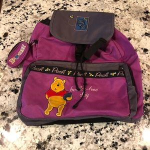 Winnie the Pooh Backpack Bother Free Day